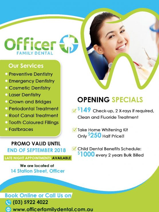 Dentist Officer, Berwick, Pakenham, Beaconsfield